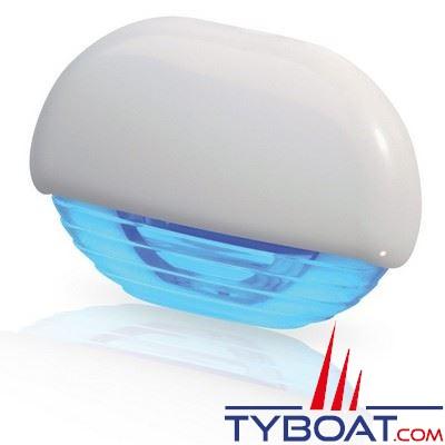Eclairage de courtoisie à Leds Hella Marine Easy Fit 12/24V lumière bleue corps blanc - IP67