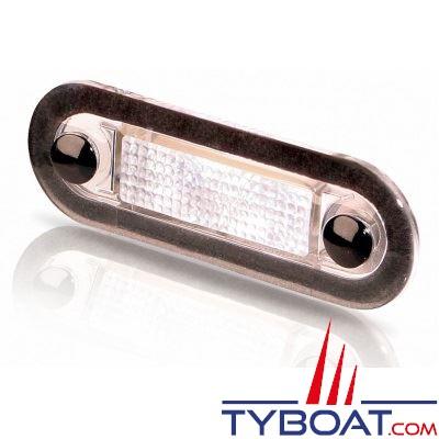 Éclairage extérieur led STEP HELLA série 8537 - blanc - lentille transparente 10-33v