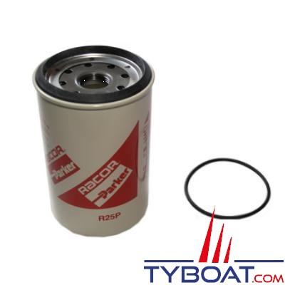 Élément filtrant de rechange R25P pour filtre RACOR 245R 30µ