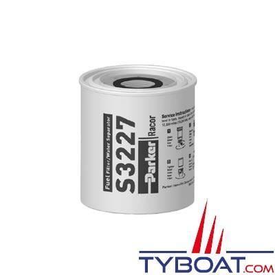Elément filtrant de rechange S3227 pour filtre essence RACOR 320R-RAC-01 10µ