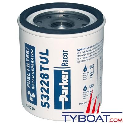 Élément filtrant de rechange S3228TUL pour filtre essence RACOR 320R-RAC-02 10µ