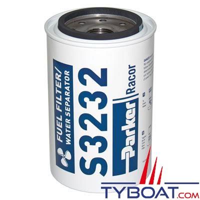Élément filtrant de rechange S3232 pour filtre essence RACOR 660R-RAC-01 10µ