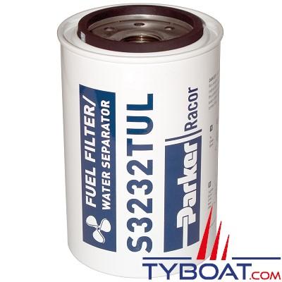 Élément filtrant de rechange S3232TUL pour filtre essence RACOR 660R-RAC-02 débit 341L/h 10µ