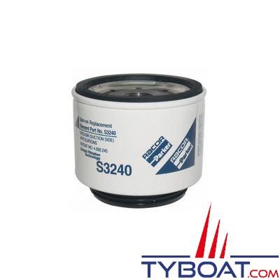 Élément filtrant de rechange S3240 pour filtre essence RACOR 120R-RAC-01 10µ
