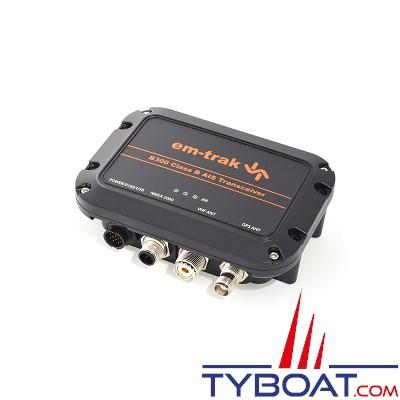 EM-TRAK B300 - Transpondeur AIS CLASS B - USB - Antenne GPS intégrée - NMEA2000