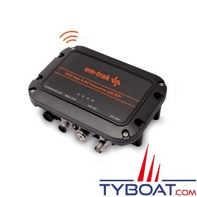 EM-TRAK B330 - Transpondeur AIS CLASS B - WIFI - USB - Antenne GPS intégrée - NMEA2000