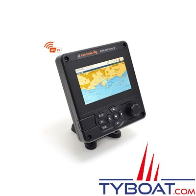 EM-TRAK B400 - Transpondeur AIS CLASS B - 5W - Affichage haute résolution 5 pouces - NMEA2000/0183 - WIFI