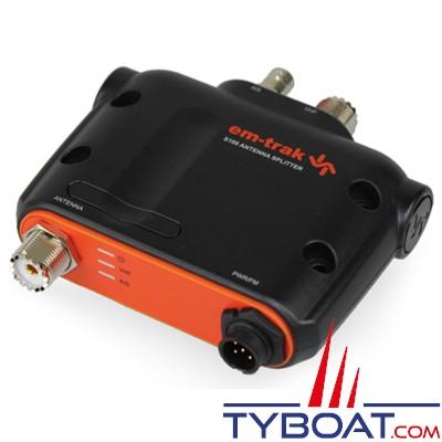 EM-TRAK S100 - Splitter d'antenne - AIS ET VHF sur la même antenne