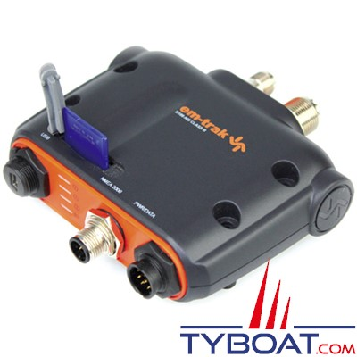 EM-TRAK B100 - Transpondeur AIS B100 Class B - NMEA0183/NMEA2000 - Antenne GPS incluse