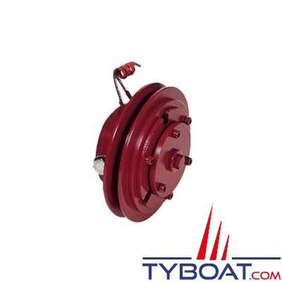 Embrayage électromagnétique 24V Ø 152 mm - 1 gorge type SPB - moyeu cylindrique - Alésage 82 pour pompes Forani & Pecorari