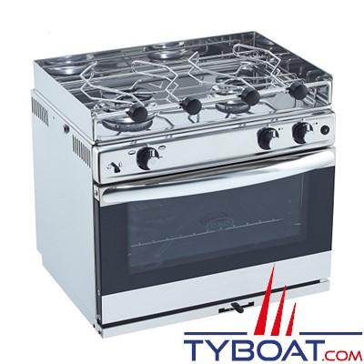 ENO - Grand Large Réchaud four 2 feux inox avec four émaillé et allumage intégré