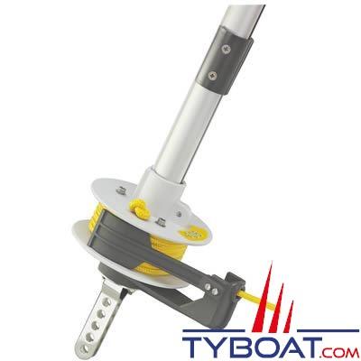 Enrouleur Plastimo 406-T version ridoir pour voilier de 4 à 6 mètres (double gorges)