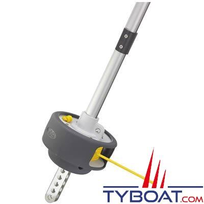 Enrouleur Plastimo 609-T version ridoir pour voilier de 6 à 9 mètres (double gorges)