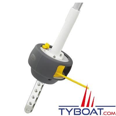 Enrouleur Plastimo 811-T version lattes pour voilier de 8 à 11 mètres (double gorges)