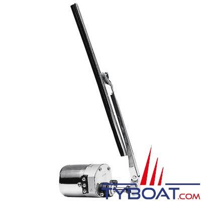 Essuie-glace standard inox 1 vitesse angle de balayage 110°