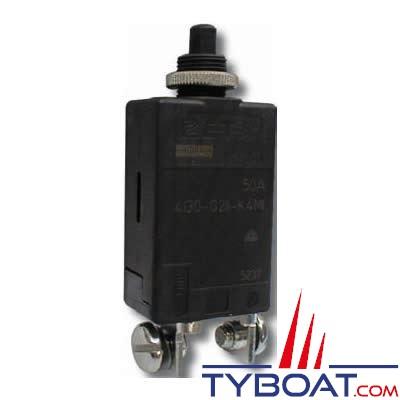 E.T.A - Disjoncteur thermique unipolaire - Réarmable - 4130 - 40 Ampères