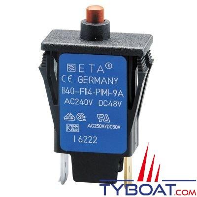 E.T.A - Disjoncteur thermique unipolaire type 1140 6 Ampères
