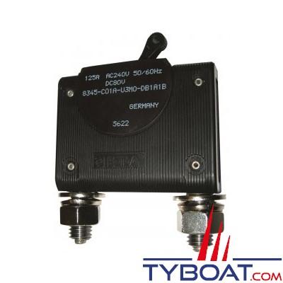 E.T.A - Interrupteur/disjoncteur unipolaire hydromagnétique type 8345 - 125 Ampères