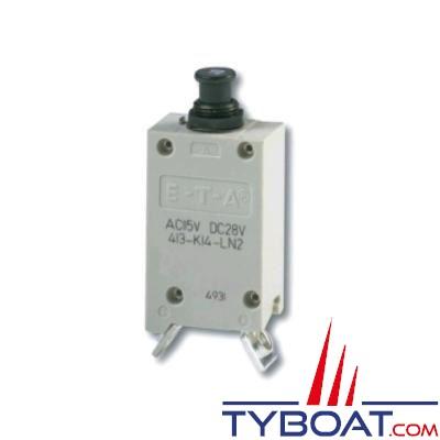 E.T.A - Interrupteur/disjoncteur unipolaire thermique type 413 - 70 Ampères