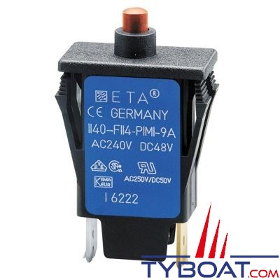 Disjoncteur thermique unipolaire E.T.A 1140 8A