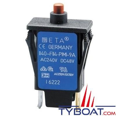 E.T.A - Disjoncteur thermique unipolaire type 1140 16 Ampères