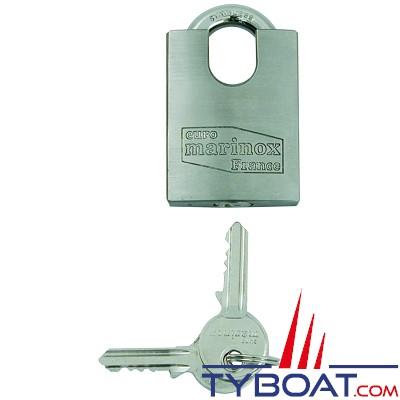Euromarine - Cadenas inox haute sécurité 40mm