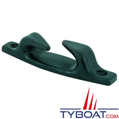 Euromarine - Chaumards croisés nylon noir 113 mm x 25 mm (1 gauche + 1 droit) - cordage Ø 11