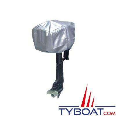 Bâche pour moteur polyester   2 à  5 CV long. 40 x larg. 25 x haut. 32 cm