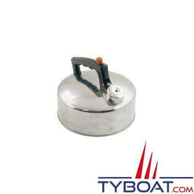 Bouilloire acier inoxydable avec sifflet capacité 2 L