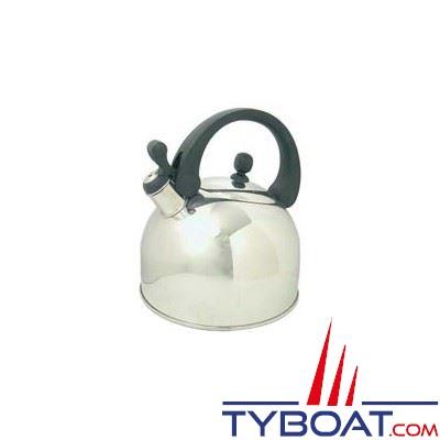 Bouilloire acier inoxydable avec sifflet capacité 3 L