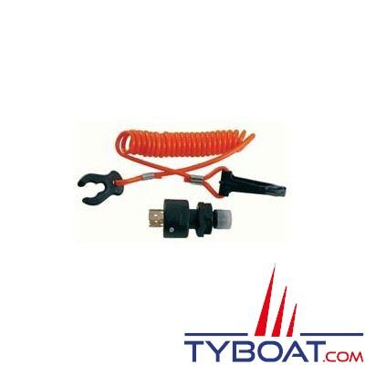 Coupe-circuit universel pour moteur hors-bord 12V - 15A