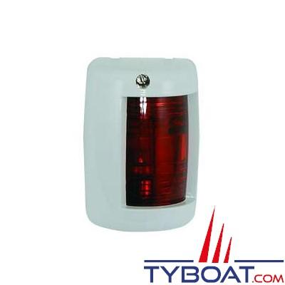 Feu de navigation babord rouge 112,5° pour bateaux de moins de 12 mètres blanc