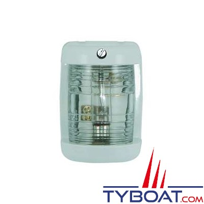 Feu de navigation tête de mât 225° pour bateaux de moins de 12 mètres blanc