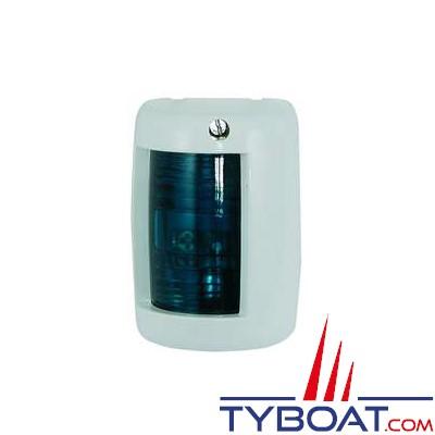 Feu de navigation tribord vert 112,5° pour bateaux de moins de 12 mètres blanc