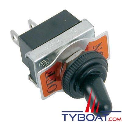 Interrupteur à levier étanche ON-OFF - 20 Ampères
