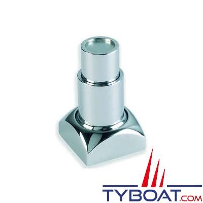 Loquet magnétique en laiton chromé 38 X 38 X 70 mm