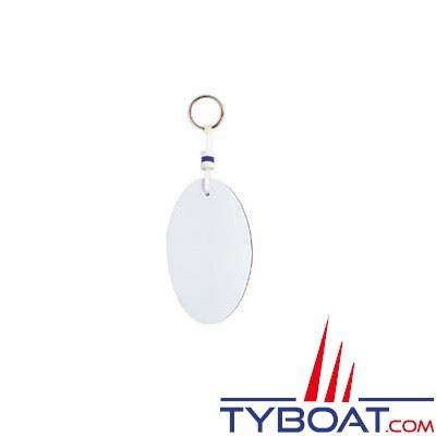 Porte-clés flottant en mousse  112 x 65 mm flottabilité 75 g.