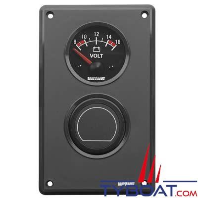 VETUS - Extention de tableau de bord type MP34B pour 2 instruments Ø 52mm