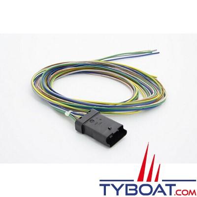 Faisceau de câble universel B pour moteur non Vetus - 2 mètres