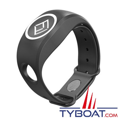 FELL Marine - Bracelet Silicone xBAND Noir pour MOB+