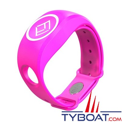 FELL Marine - Bracelet Silicone xBAND Rose pour MOB+