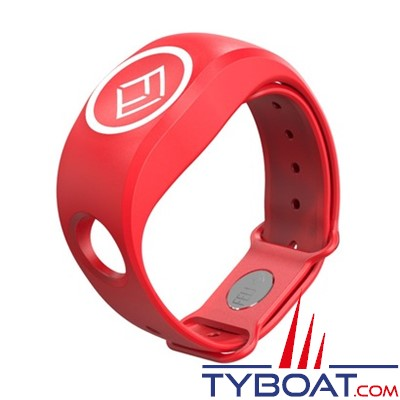 FELL Marine - Bracelet Silicone xBAND Rouge pour MOB+