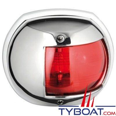 Feu de navigation babord Osculati Maxi 20 inox 316 12V