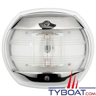 Feu de navigation tête de mât blanc Osculati Maxi 20 inox 316 12V