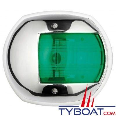 Feu de navigation tribord Osculati Maxi 20 inox 316 12V