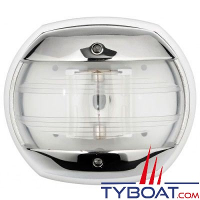 Feu de poupe blanc Osculati Maxi 20 inox 316 12V