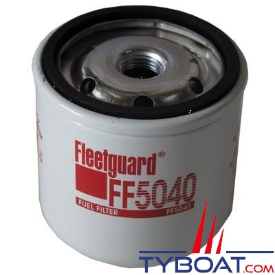 Filtre à carburant FLEETGUARD FF5229 pour YANMAR 4JH2-UTE, 4JH3-HTE, 4JH3-DTE (YEU), 4JH3-TE (YEU), 4JH4-TE, 4JH4-HTE