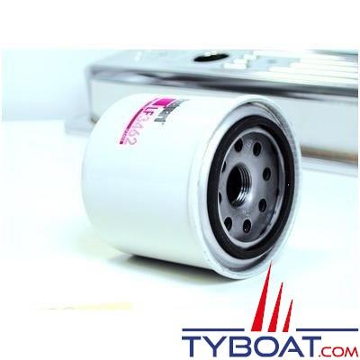 Filtre à huile FLEETGUARD pour CATERPILLAR 3116/ 3116 TA /3126/ 3208/ 3208T/ 3208TA (longueur 264mm)