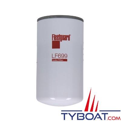 Filtre à huile LF699 FLEETGUARD pour MERCRUISER DIESEL, PERKINS