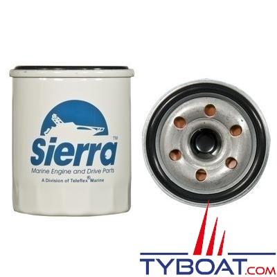 Filtre à huile SIERRA 18-8700 pour YAMAHA hors bord F15, F20 (2006-2012) F25, T25 (2009-2012) F40 (2008-2012) F50, F60, T50, T60 (2005-2012) F70 (2010-2012)
